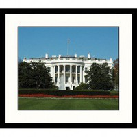 Great American Picture White House Day Framed Photograph - DC36