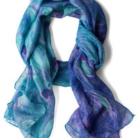 Feather Permitting Scarf | Mod Retro Vintage Scarves | ModCloth.com