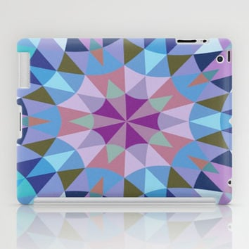 Lavender Retro Geometry iPad Case by 2sweet4words Designs