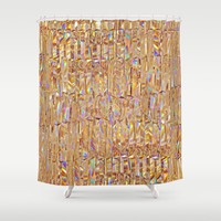 To Love Beauty Is To See Light II (Crystal Prism Abstract) Shower Curtain by soaring anchor designs ⚓ | Society6