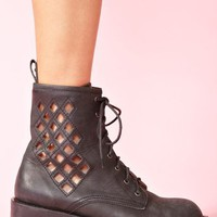 Pixel Cutout Boot