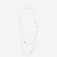 """""""Untitled jewels"""" fine chain necklace"""