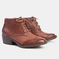 Polite Lace-Up Booties By BC Footwear