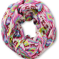 Empyre Doodle Tribal Print Infinity Scarf