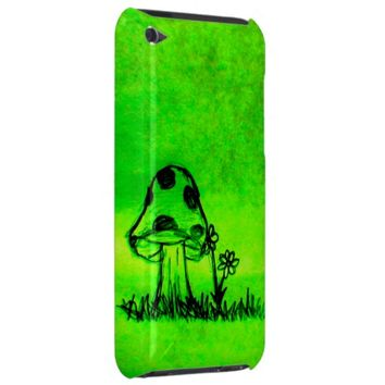 Green Mushroom iPod Touch Case