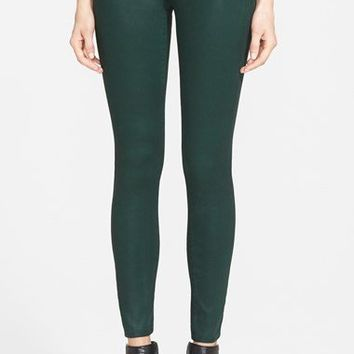 Hudson Jeans 'Nico' Mid Rise Skinny Stretch Jeans (Green Envy) | Nordstrom