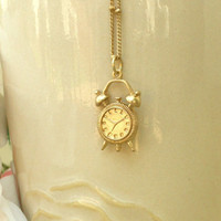 Tick Tock Little Clock [2636] - $12.00 : Vintage Inspired Clothing & Affordable Summer Dresses, deloom | Modern. Vintage. Crafted.