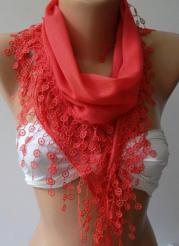 Pomegranate Flower / Cotton/ Traditional Turkish fabric /Anatolian Shawl....
