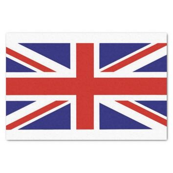 British Flag Tissue Paper