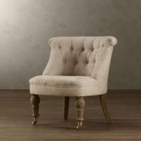 Sophie Tufted Slipper Chair | Chairs | Restoration Hardware