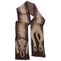 Dachshund Scarf - Coordinating Handwarmers Available!