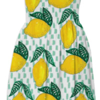 Lemons created by Bouffants & Broken Hearts | Print All Over Me