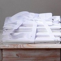 Pure White Bedlinen: Pillowcases