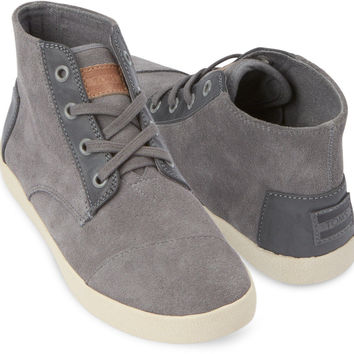 GREY SUEDE WOMEN'S PASEO HIGHS