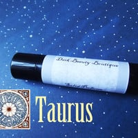 Solid Perfume - Taurus - Astrological Perfume Crème Jar or Stick - Vanilla, Rosemary, Mint and Lavender