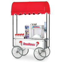 The Classic Snow Cone Cart