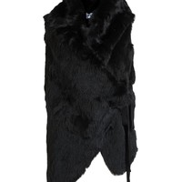 ANN DEMEULEMEESTER | Rabbit Fur Waistcoat | Browns fashion & designer clothes & clothing