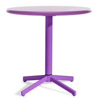 Zuo Modern Big Wave Folding Round Table