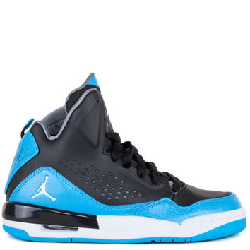 Jordan Kids SC3 Grade School - Black White Dark Powder Blue Cool Grey