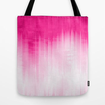 Pink Tote Bag by Ornaart