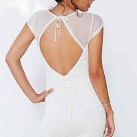 Silence + Noise Mia Cut-Out Neck Mini-