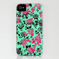 Vintage Wallpaper iPhone Case by Romi Vega | Society6
