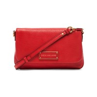 Marc by Marc Jacobs Too Hot to Handle Flap Percy Bag in Cambridge Red