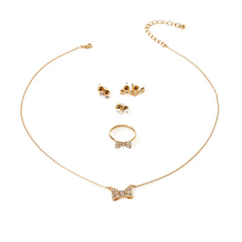 FOREVER 21 Bow Jewelry Set