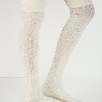 Free People Womens Victorian Speckled Tall Sock