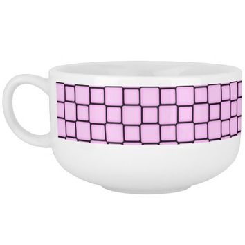 """Boxes 04"" Abstract Soup Mug"