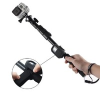 Kootek® Extendable Camera Gopro Pole Mount Waterproof Telescoping Monopod Selfie Stick Telescopic Extender with Wifi Remote Protective Case Attachment Wrist Strap for iPhone 6 6 Plus 5s 5c 5, Samsung S5 S4 S3 Note 2 Note 3, GoPro Hero 1 2 3 3+ 4, DLSR, Dig