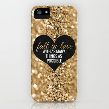 Fall In Love iPhone & iPod Case by Tangerine-Tane