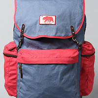 The Adelanto Backpack in Washed Red & Captains Blue