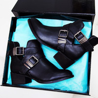 Clementine Ankle Boots - Black