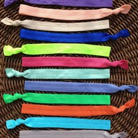 Solid Color Elastic Headband (and B.. on Luulla