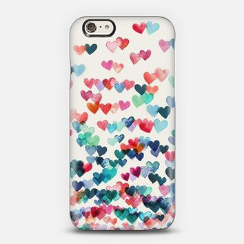 Heart Connections - watercolor painting on white iPhone 5s case by Micklyn Le Feuvre | Casetify