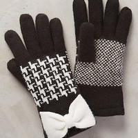 Herringbone Bow Gloves