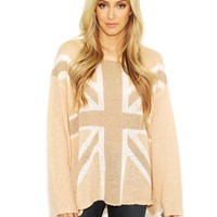 Wildfox Save The Queen Roadie in Brown Egg | Boutique To You