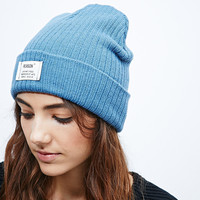Reason Basic Beanie in Blue - Urban Outfitters