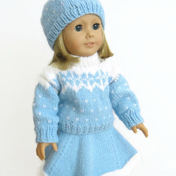 18 Inch Doll Clothes - Doll Outfit - Winter Doll Clothes