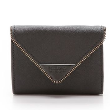 Molly Metro Wallet with Black Hardware