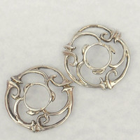 Mid Century Sterling Silver Jewelry Findings