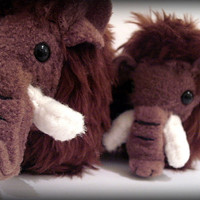 Melvin The Woolly Mammoth Plush