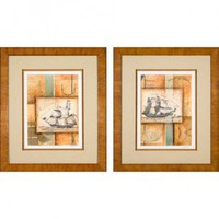 Phoenix Galleries Nautical Passage Framed Prints - Nautical Passage Series