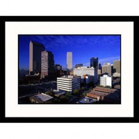 Great American Picture Downtown of Denver, Colorado Framed Photograph - Walter Bibikow - IS553216