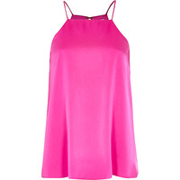 River Island Womens Pink silky cami