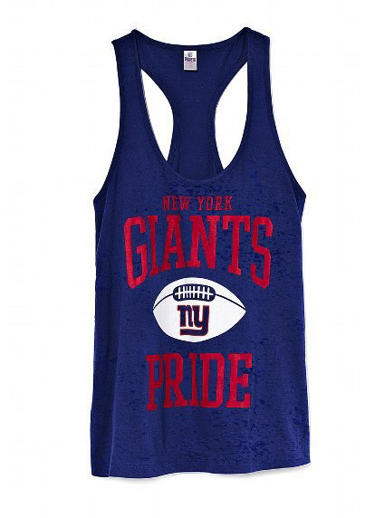 New York Giants Racerback Tank - Victoria's Secret PINK® - Victoria's Secret