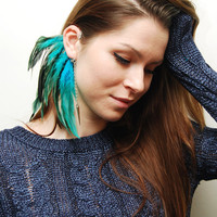 Feather Ear Cuff - Laguna