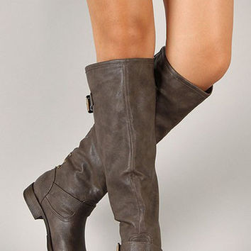 Ashworth Boot - Taupe | Posh Boutique