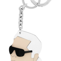Karl Lagerfeld Mirrored keychain – 65% at THE OUTNET.COM